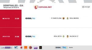 Ya tenemos rival para las Semifinales de la Copa del Rey 2018-19 1